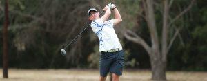 Hayden Gulliver hits a golf shot