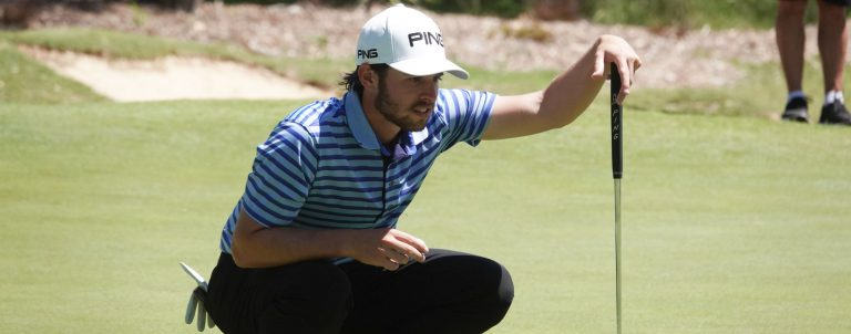 Harrison Endycott began the day with a one shot lead at 2018 NSW Open