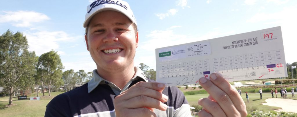 Jake McLeod sets course record for NSW Open lead