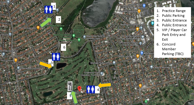 Entry map for concord golf club