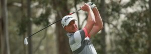 Brett Rumford will be one of the headline acts in the first round of the AVJennings NSW Open