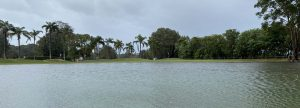 image of flooded golf course